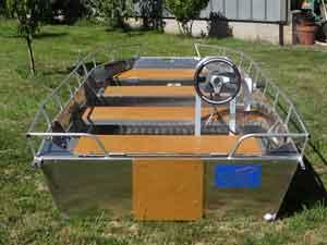 Barco de pesca de alumínio